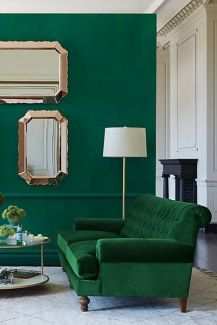 jewel tones green