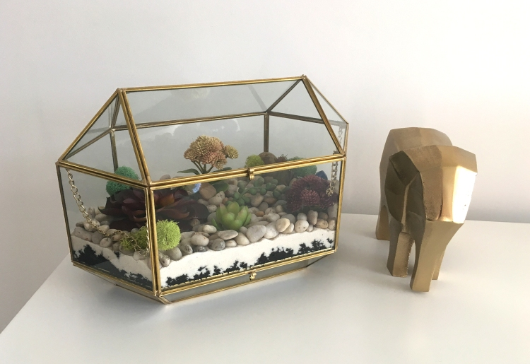 Diy Artificial Terrarium The Glam Shack