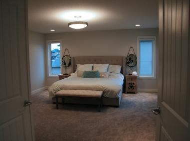 bedroom- bed