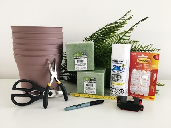 green wall supplies