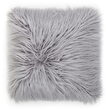 Mongolian Faux Fur Throw Pillow
