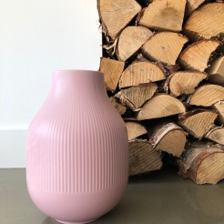 GRADVIS blush vase from IKEA