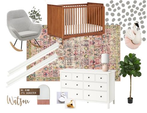 Emmy's nursery Mood board